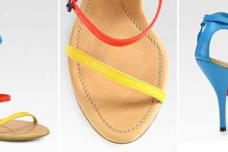 Bottega Veneta colourblock sandals