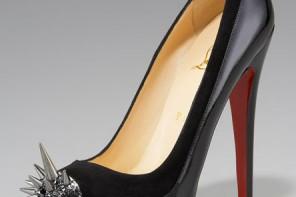 Christian Louboutin spike toe shoes