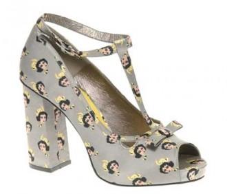 ASOS Pelcian cat print shoes