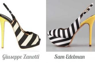 Giuseppe Zanotti Vs Sam Edelman
