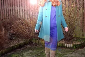 colourblock winter outfit