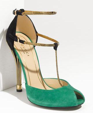 Gucci chain strap Mary Janes