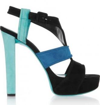 Gucci tri-colour sandals