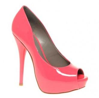 pink peep toes Kurt Geiger ettie