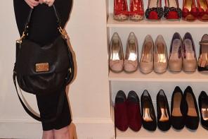 zara toecap court shoes, Marc Jacobs bag