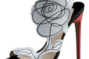Nicholas Kirkwood Scribble-Flower shoes