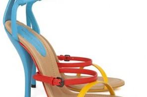 Bottega Veneta runway sandals