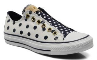 Chuck Taylor polka dot sneakers