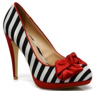 Dune Belma stripe court shoes