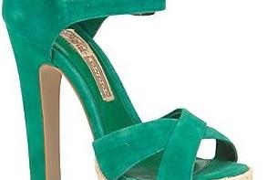 buffalo green diasia platform sandals