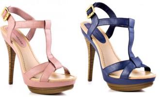 platform t-bar sandals