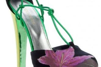 sergio rossi flower sandals