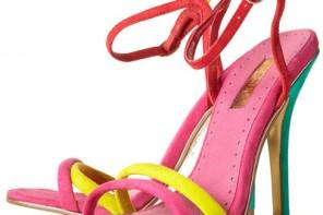 Topshop 'Reem' super skinny sandals