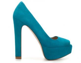 Zara platform peep toes
