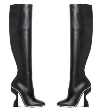 Balenciaga Blade knee boots