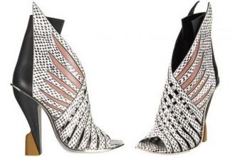 Balenciaga winged boots