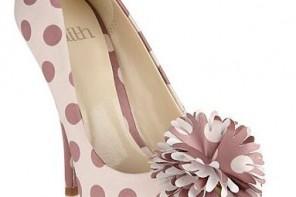 Faith polka dot peep toes