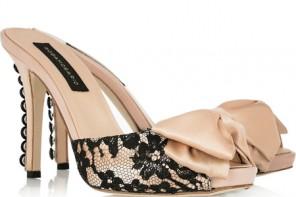 high heeled mules