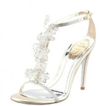 lace t-strap sandals