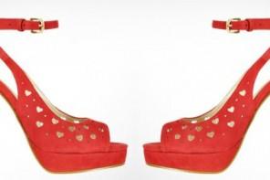 Moschino heart shoes
