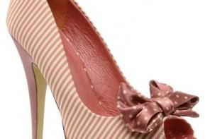 pink polka dot shoes