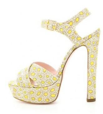 Red Valentino Daisy sandals