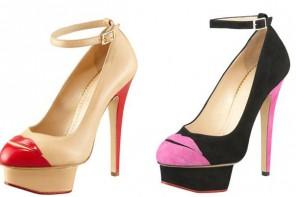 Charlotte Olympia Kiss Me platform shoes