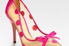 Kate Spade polka dot pumps