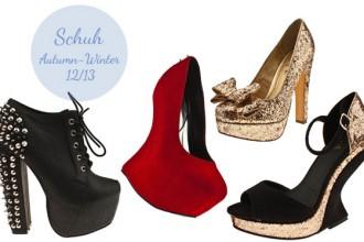 Schuh Autumn Winter 2012-13 collection