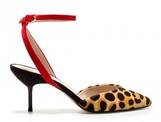 Zara leopard print shoes
