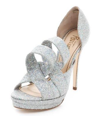 Jerome C Rouseau glitter shoes