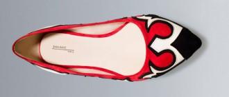 Zara cowboy ballerina pumps