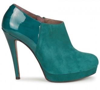 Fericelli green suede 'Zevaza' shoe boots