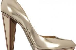 YSL mirrored heel