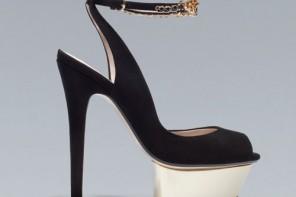 Zara jewelled slingbacks with ankle straps