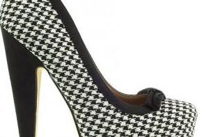 dogtooth platform shoes