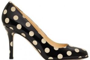 kate spade polka dot heels