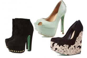 Chloe Green Topshop shoe line