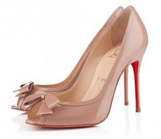 Christian Louboutin Milady peep toes