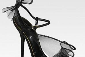 Dolce & Gabbana Crinoline & Satin Sandals