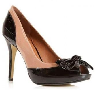 Moda in Pelle 'Dreamz' two-tone peep toes