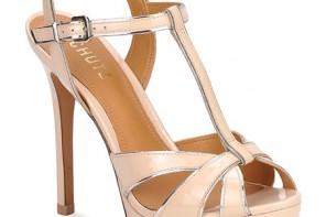 pink t-bar sandals