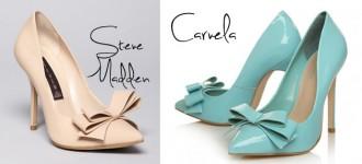 Steve Madden Vs Carvela