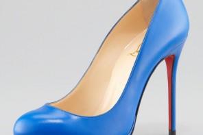Christian Louboutin 'Filo' bright blue pumps
