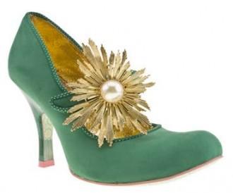 Irregular Choice 'Warm Rays' high heeled court shoes
