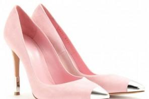 Gianvito Rossi pink toecap pumps