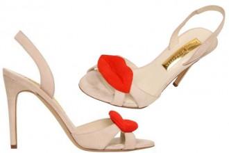 Rupert Sanderson Lips sandals
