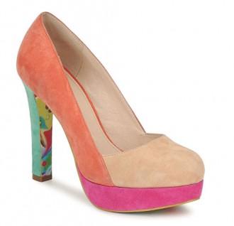 colour block shoes