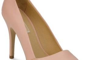 buffalo asymmetric pink court shoes