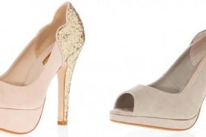 Glitter heel peep toes from Dorothy Perkins
